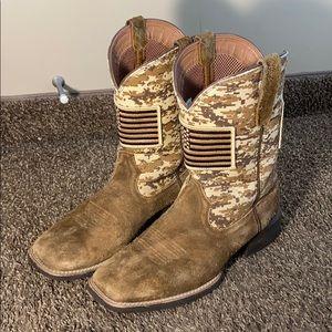 Ariat American Flag Western Cowboy Boots